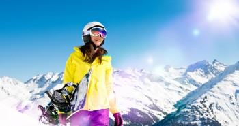 Snowboarding Livigno