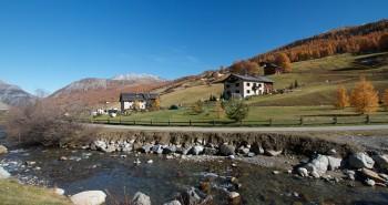 Letní Livigno - řeka Spöl