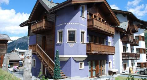 Apartmány Cristallo Livigno