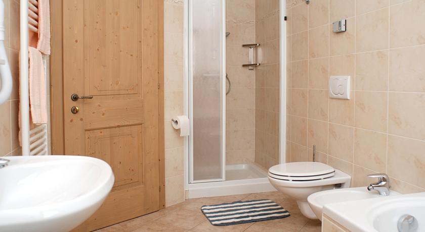 Apartmány Livigno Maison da Filip - koupelna