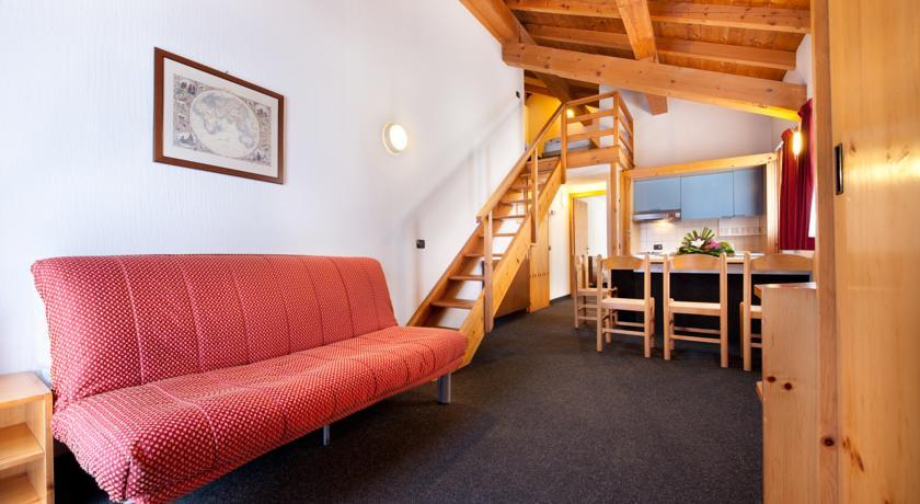 Apartmány Nevegall Livigno - interiér
