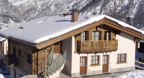 Apaprtmány Maison Da Filip Livigno - zimní pohled