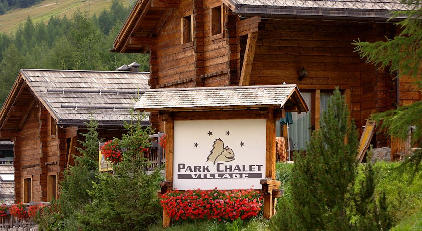 Park Chalet village Livigno - venkovní pohled